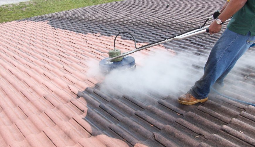 Roof Cleaning Services - Premier Power Clean